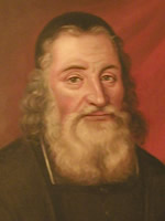 Johan Gezelius d.ä. Porträtt i Domkapitlet i Åbo. Foto: OÖ.