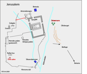 Jerusalem under stilla veckan